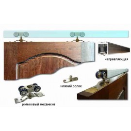Механизмы для межкомнатных-раздвижных дверей и перегородок Тип для перегородок