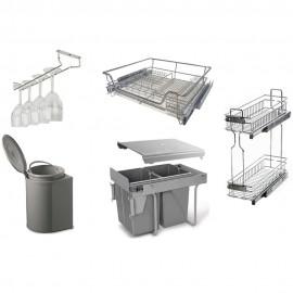 Наполнение для кухонь REJS, Материал Пластик