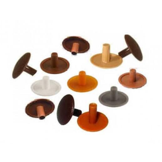 Заглушки пластиковые универсальные, под конфирмат (евровинт)