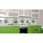 Кухонная панель AF35 глянцевая, Яблоневая свежесть