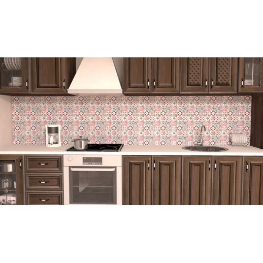 Кухонная панель AF37 глянцевая, Восточная плитка