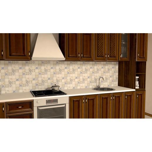 Кухонная панель AF39 глянцевая, Французская плитка