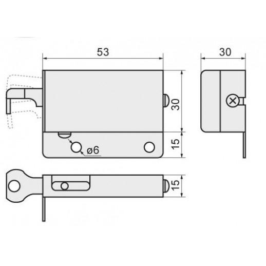 Навес кухонный (левый+правый), металл