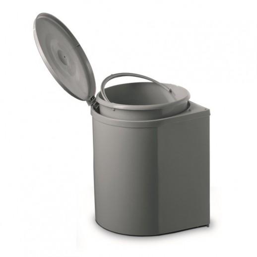 Ведро для мусора (пластик) объем 11 литров