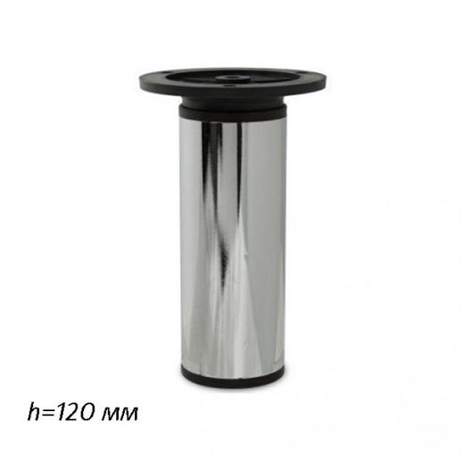 Опора 19527, Н=120 мм (хром), регулируемая