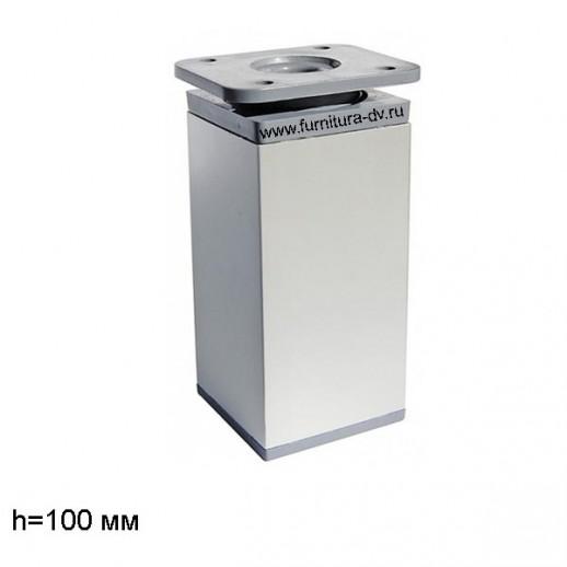 Опора DAKP-27,Н-100мм (алюминий), регулируемая