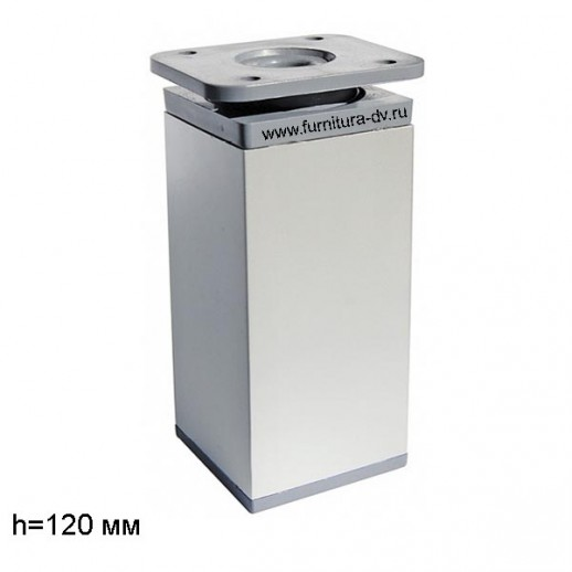 Опора DAKP-27,Н-120мм (алюминий), регулируемая