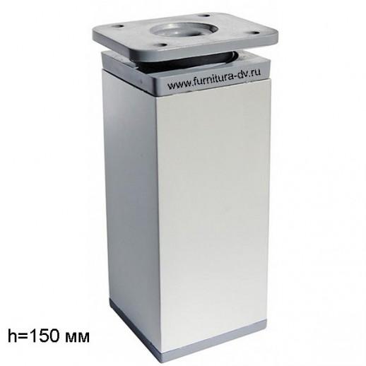 Опора DAKP-27,Н-150мм (алюминий), регулируемая