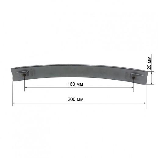 Ручка-скоба Metax K805-160-25