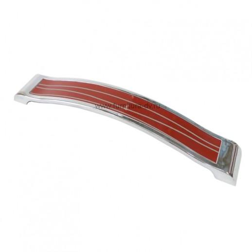 Ручка-скоба Metax KD-160-02 Красный/хром