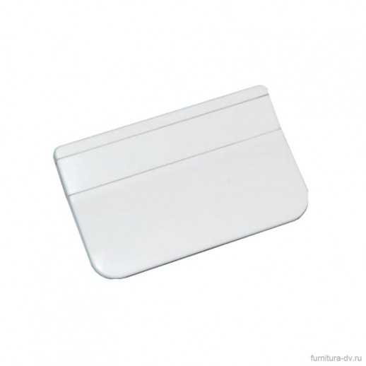 Ручка балконная пластик, белая