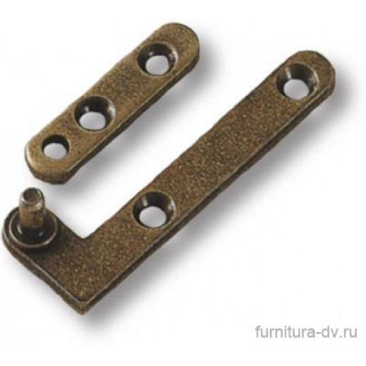 """Петля """"Brass"""", бронза,3084-22"""
