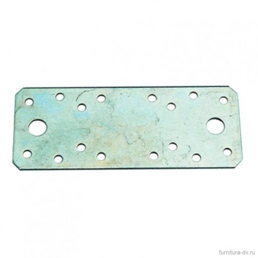 Пластина крепежная 140*55*2.0 ГОЦ, цинк