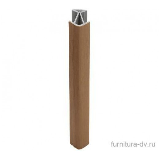 Соединение цоколя 135 гр., пластик, h=0,1 м